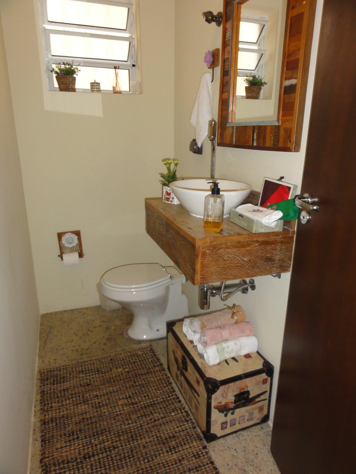 Imagens de #B41817 lavabo da minha casa é bem rústico e eu adoro esse estilo! 1200x1600 px 3626 Banheiros Simples Rusticos