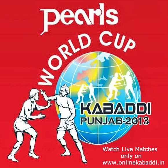 Kabaddi World cup 2013