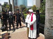 Demo di depan gedung KPK