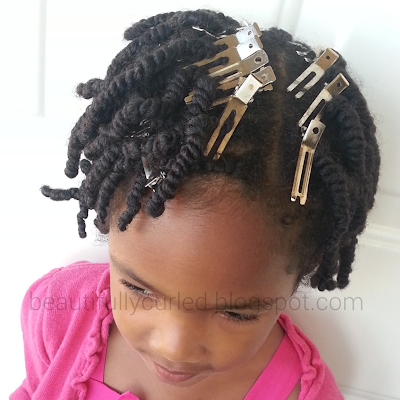 Beautifully Curled: Using Clips to Reduce Puffiness at the Root of Twists