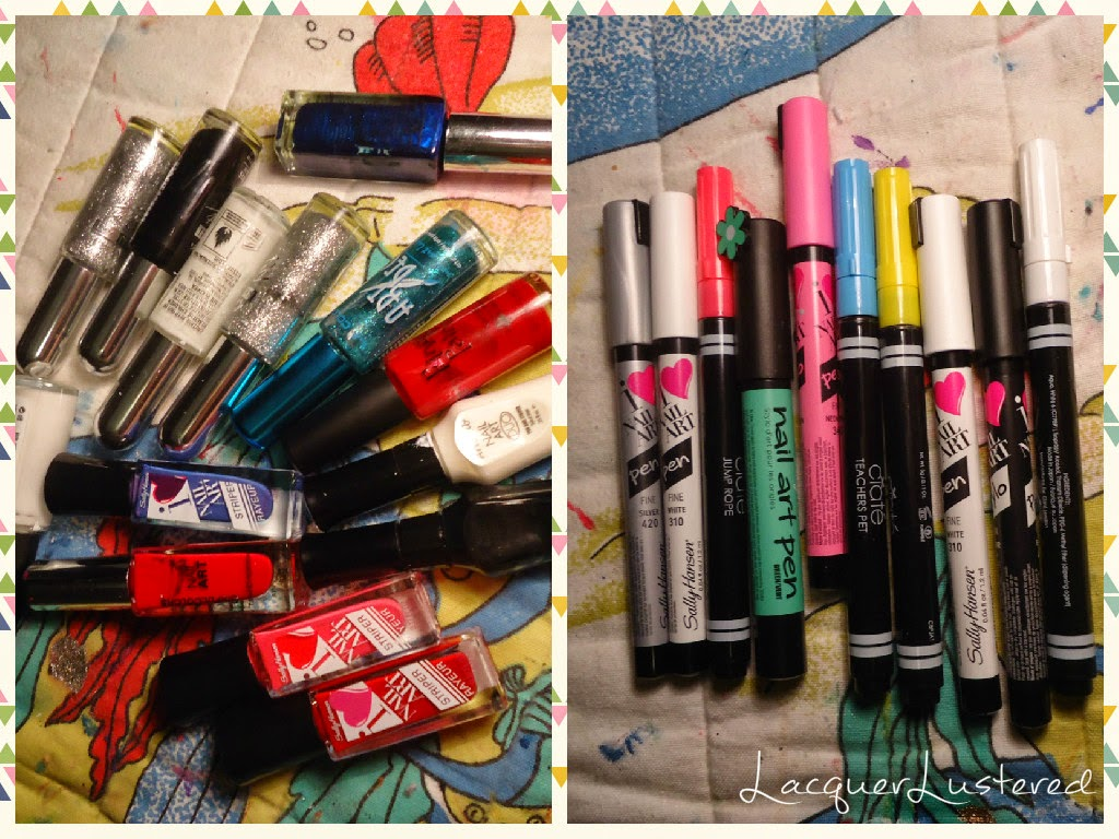 Supplies you need for nail art