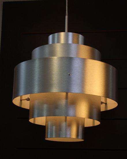 Lustre de aço inoxidável Design Inox