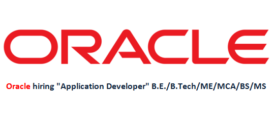 "Oracle hiring ""Application Developer"""