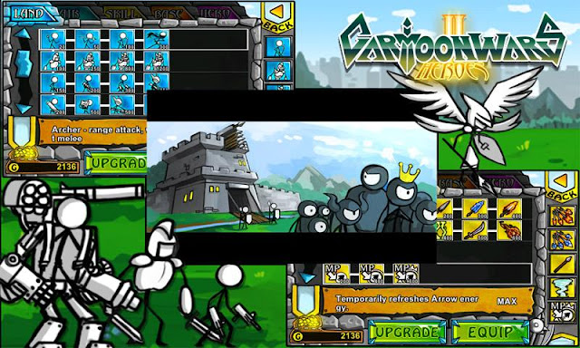 Download Cartoon Wars 2 v1.0.4 Android Apk Mod (Unlimited Money)
