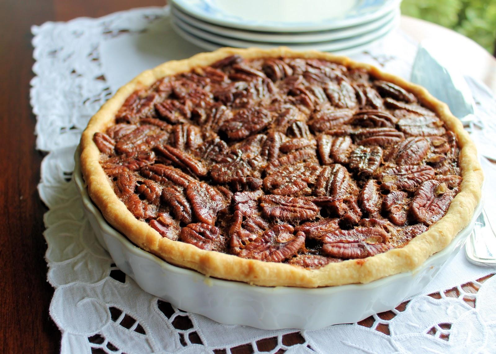 Savoir Faire: Rum Infused Pecan Pie