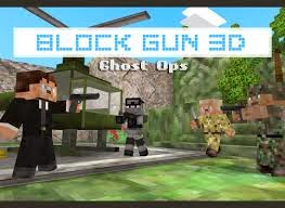 Download Block Gun 3D Ghost Ops Mod Apk 1.0.9 [Unlimited Revives]