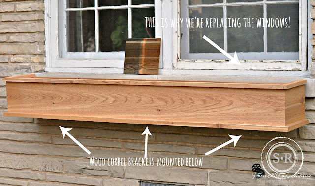 Serendipity refined blog how to build a diy rustic cedar for Window frame plan