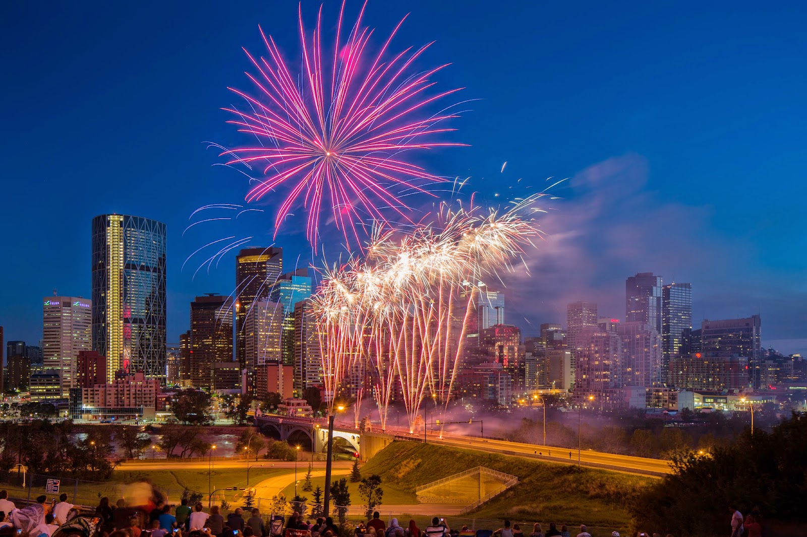 Calgary Canada Day fireworks
