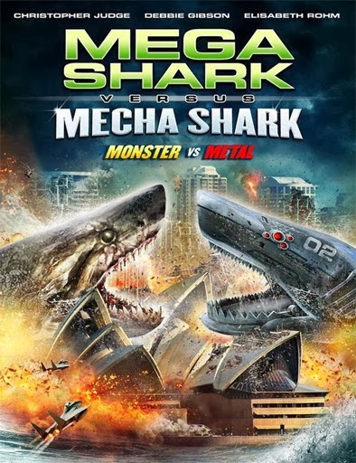 Ver  Mega Shark Vs. Mecha Shark – 2014