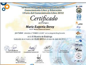 Ganador RedCled 2012