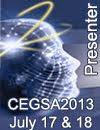 #CEGSA 2013 presenter