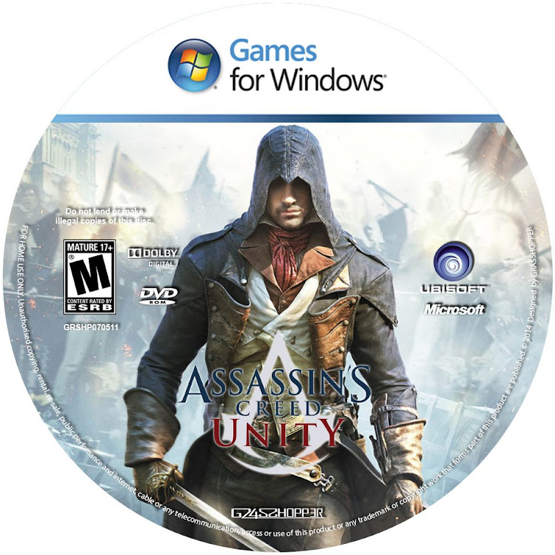 Label Assassins Creed Unity PC