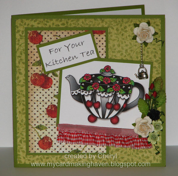 Kitchen Tea Quotes For Cards: My Cardmaking Haven: A Kitchen Tea Card And Yep The