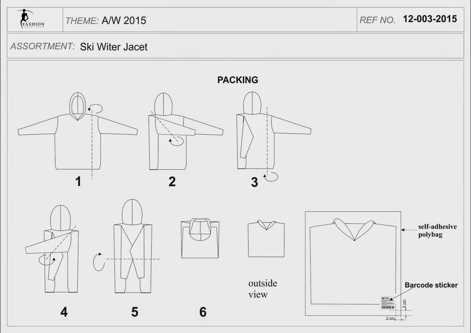 karta produktu - karta pakowania