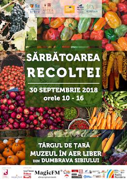 Sărbătoarea Recoltei la Muzeul ASTRA - 30 septembrie 2018