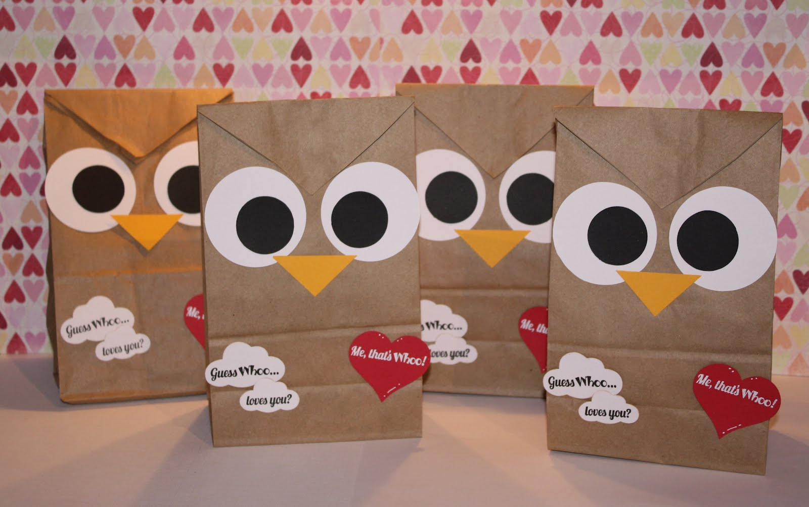 Valentine S Day Owl Bags