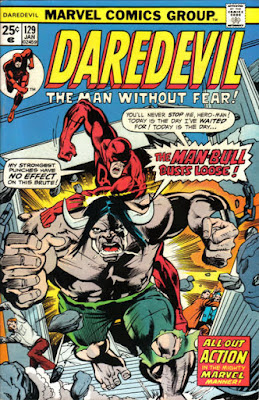 Daredevil #129, Man-Bull