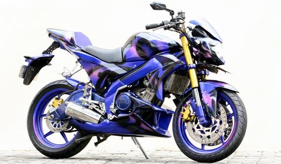 Modifikasi Yamaha Vixion Terbaru
