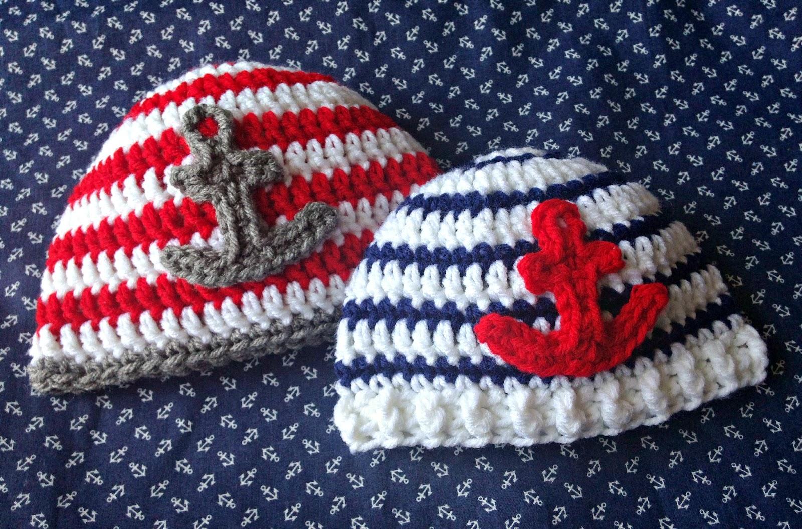5 little monsters free crochet pattern anchor baby hats free crochet pattern anchor baby hats bankloansurffo Gallery