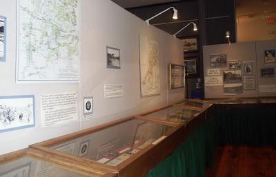 Civil War memorabilia insde the Old Courthouse Civil War Museum in Winchester