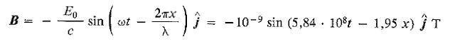Ejercicio resuelto onda electromagnetica 3