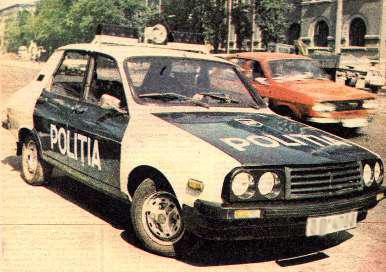 Dacia 1310 Police car