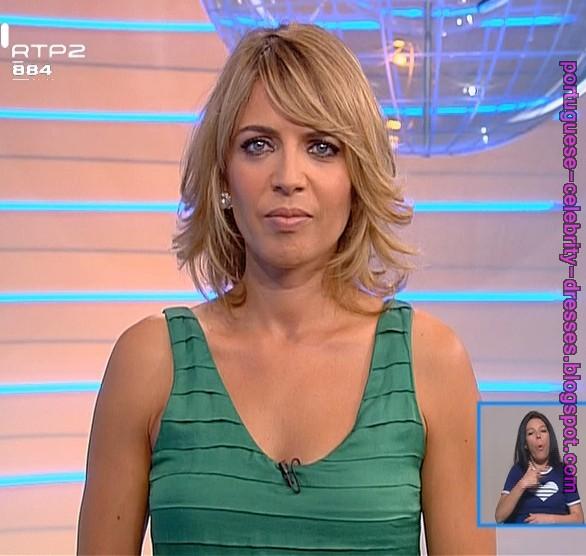 "PORTUGUESE CELEBRITY DRESSES: SANDRA FELGUEIRAS - ""HOJE ..."