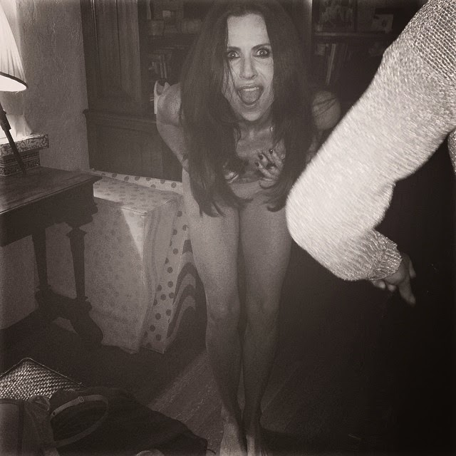 Minnie Driver shares a few pictures on her Instagram account on Tuesday, April 8, 2014