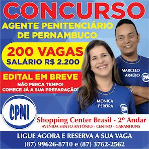 CONCURSO DE AGENTE PENITENCIÁRIO!