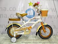 Tengah Family Imperial 12 Inci Sepeda Anak Perempuan