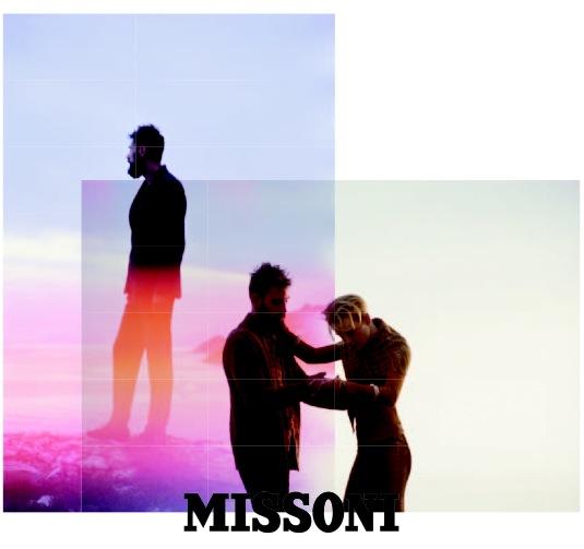 Missoni Fall Winter 2012 ad campaign Mark Borthwick