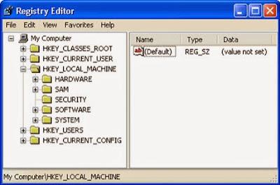 hkey local machine virus
