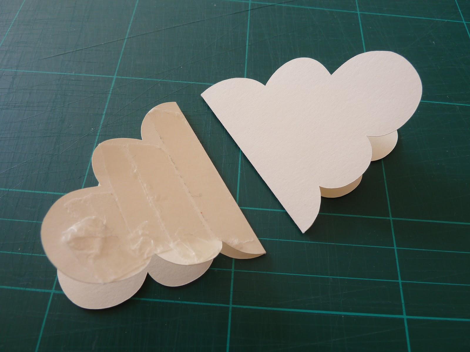 Как сделать облако из бумаги фото
