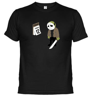 Camiseta Viernes 13 /Jason triste