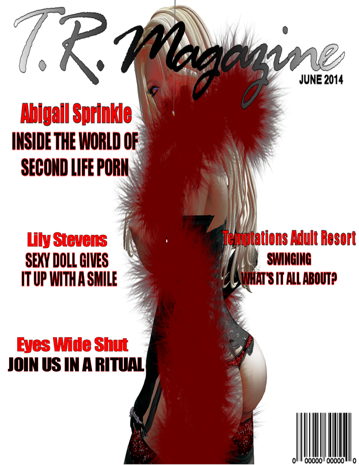 First issue of T.R. Magazine.