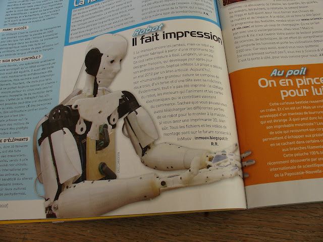 inmoov dans science et vie