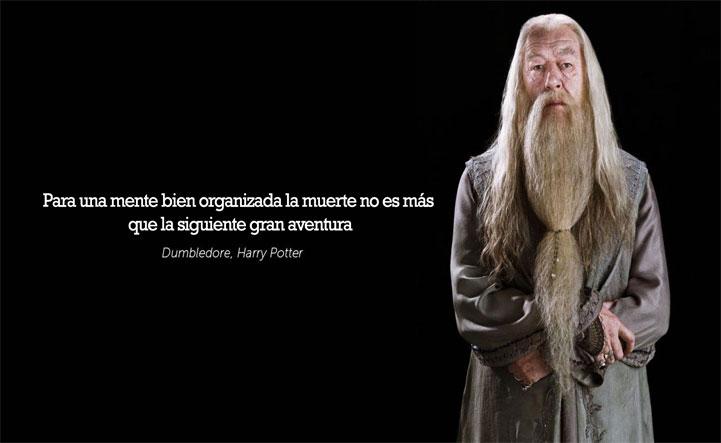 frase dumbledore alar rickman