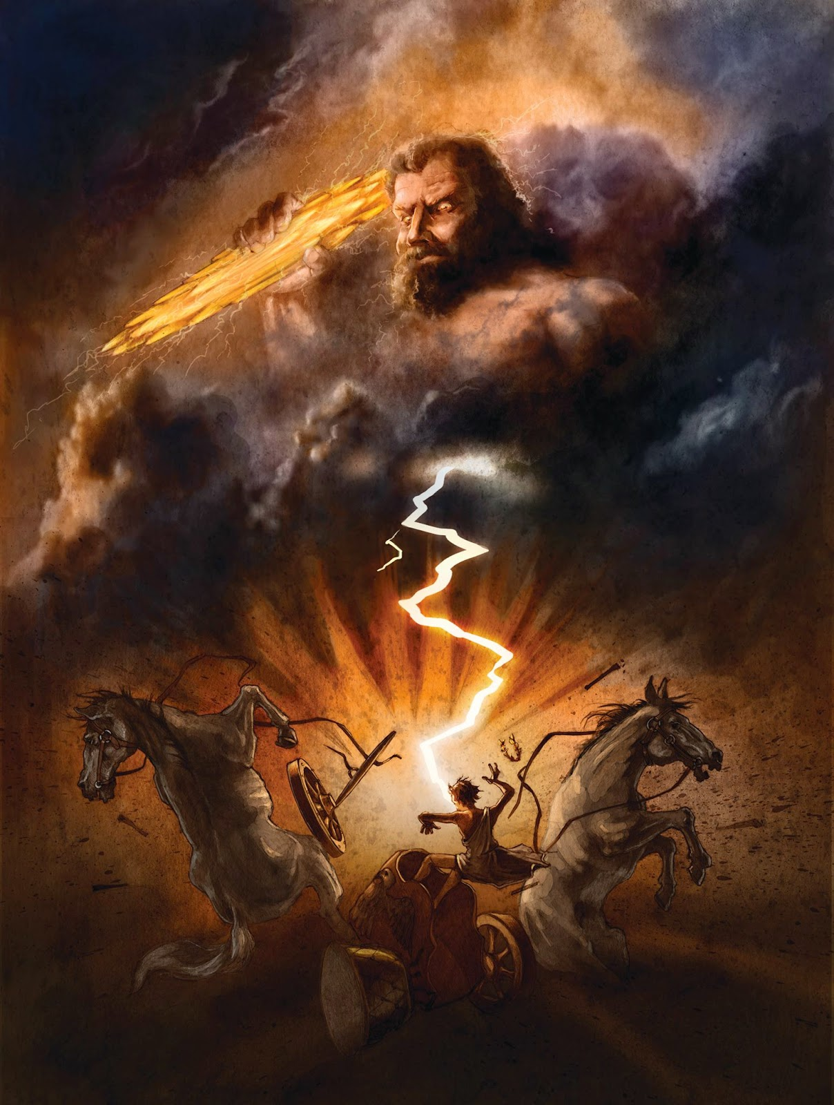 Percy Jackson's Greek Gods: Zeus
