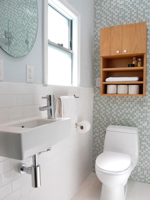 Маленькие ванные комнаты