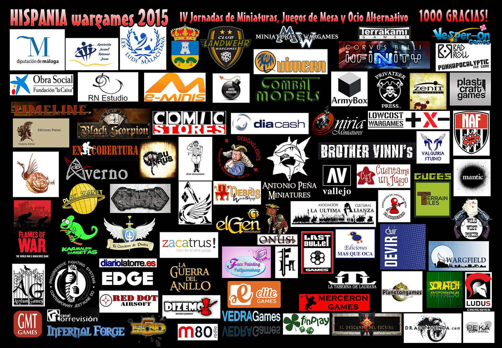 colaboradoras de HISPANIA wargames 2015