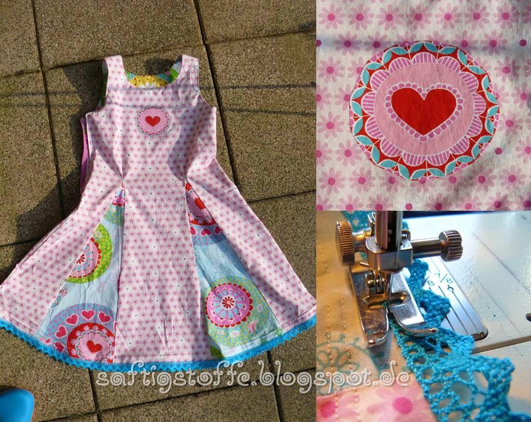 Frühlingskleid mit 4 Godets