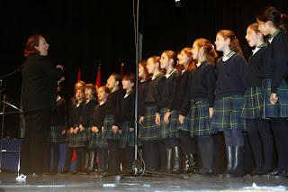 Colegio Senara en el Recital de Moratalaz