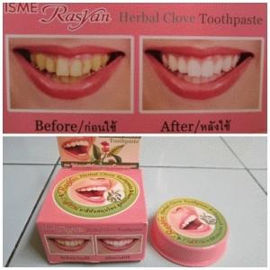 Pemutih Gigi Rasyan Herbal Clove Toothpaste Agen Produk Kecantikan