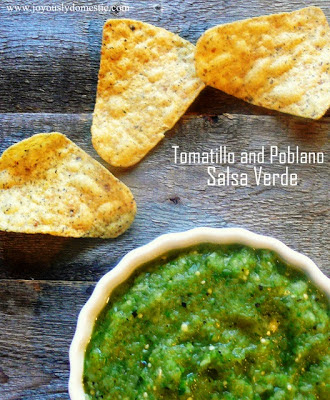 Tomatillo and Poblano Salsa Verde