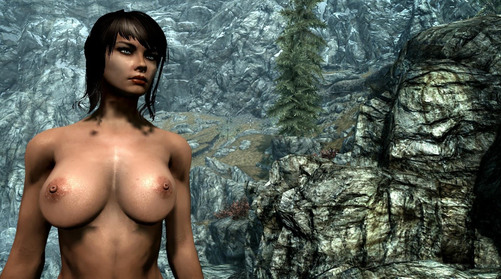 Skyrim nude skins naked clips