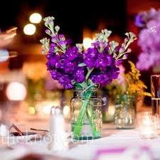 Decoração de casamento com Vidros