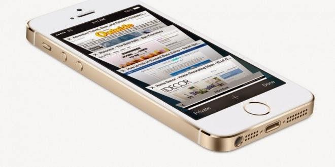 Мобильный телефон Apple iPhone 5s 16 Гб Gold 64-битный смартфон с огромным потенциалом