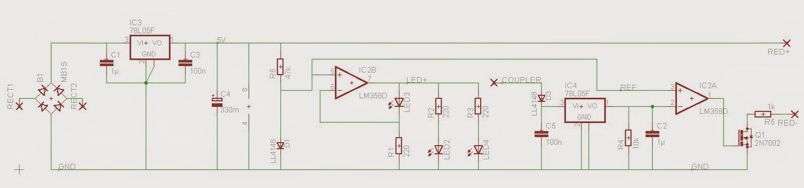 Modellbahn-Technik-Blog: Entwurf einer automatisch abschaltenden ...