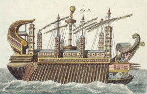 Caligula's Giant Ship (104 m)