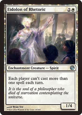 MtG expansion Journey into Nyx white enchantment creature